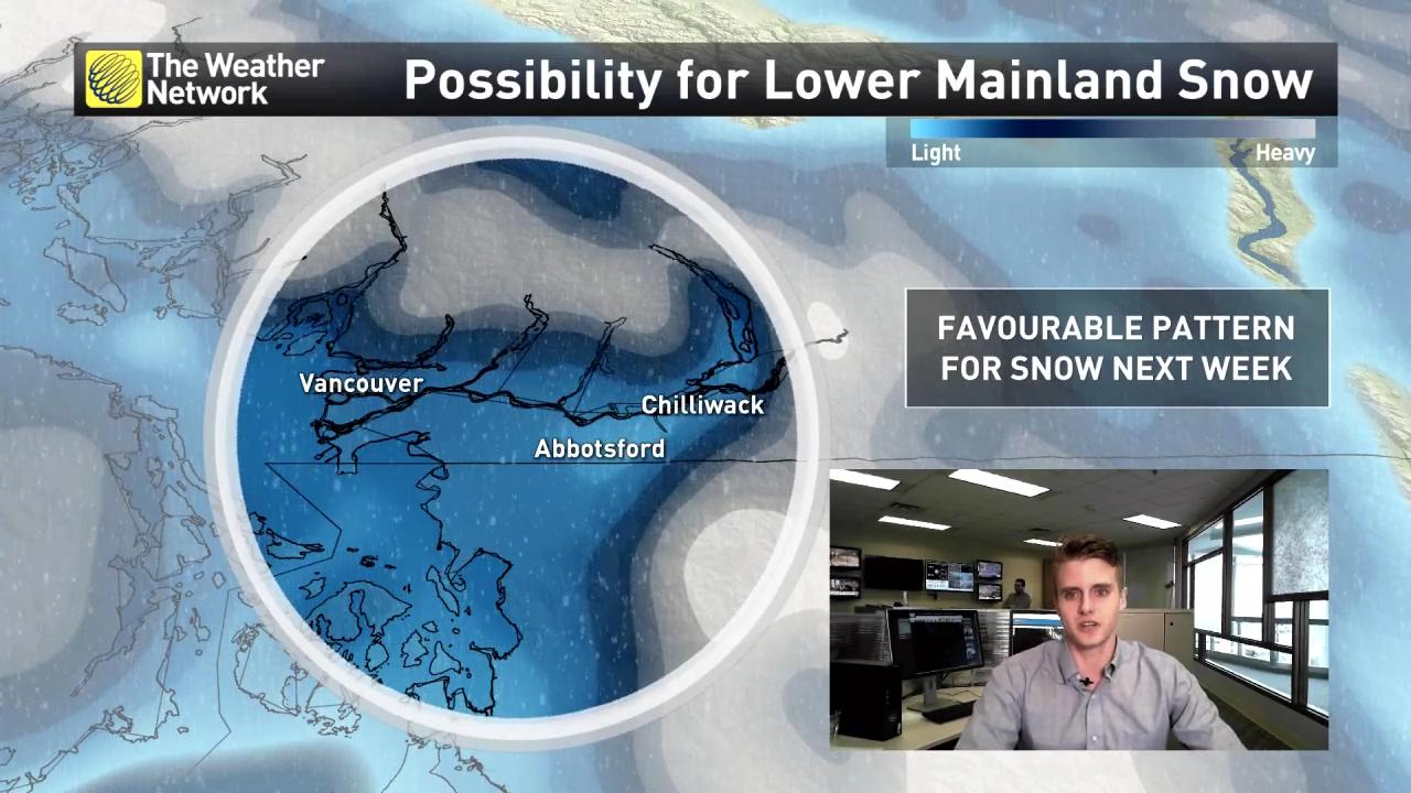 B.C.'s south coast to potentially see significant winter weather
