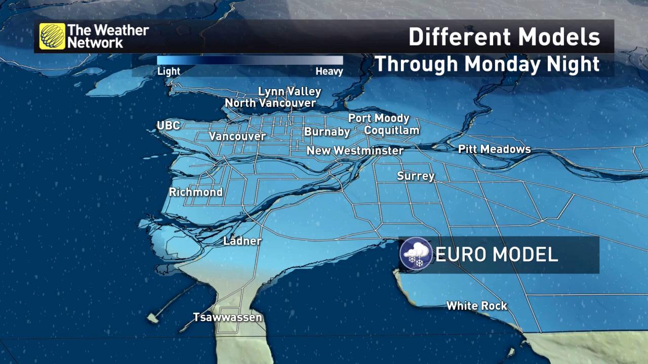 New: Tracking potential snow-makers in B.C. this weekend