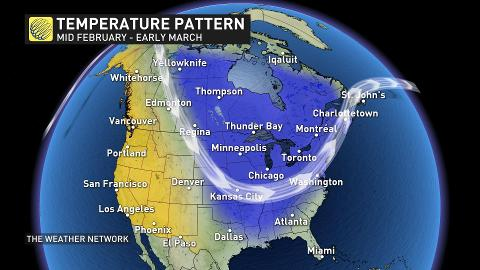 News - Frigid February in store for Canadians as Arctic air